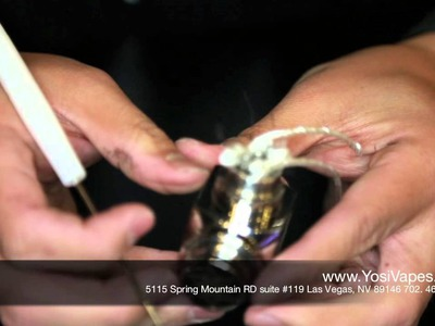 How to Build a Rebuildable Atomizer | Yosi Vapes' DIY Dual Coil Tutorial | Vape Shop in Las Vegas