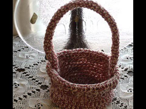 How to Crochet a Basket Crochet Geek