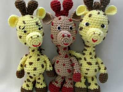 How To Crochet A Giraffe