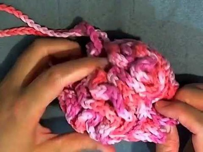 How to Crochet a Loofah - Bathroom Projects