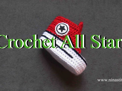 How to crochet All Star on shoes