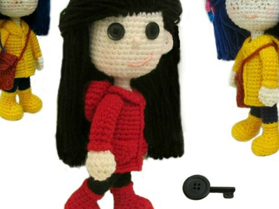How To Crochet Coraline NEW VIDEO