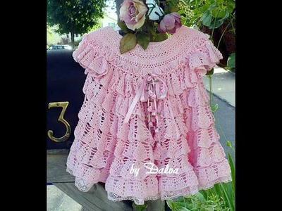 How to crochet dress free pattern