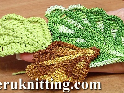 How to Crochet Oak Leaf Step-by-step Tutorial 16