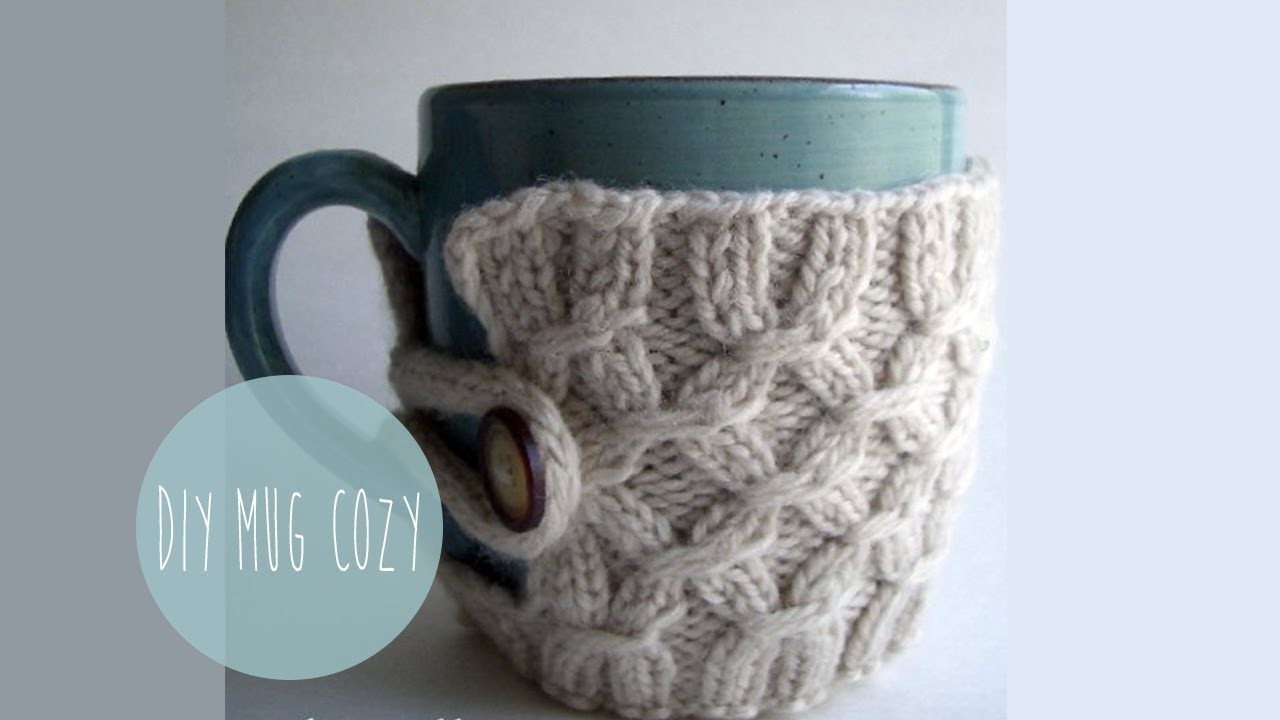 How to knit a Smocked Mug