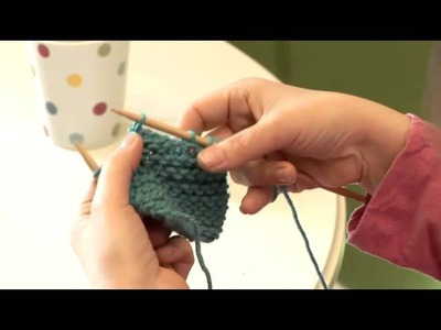 How To Knit Button Holes