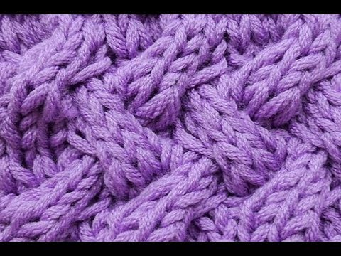 How-to Knit * Fake Entrelac * Braid Stitch * Cable Stitch * Knitting Stitch