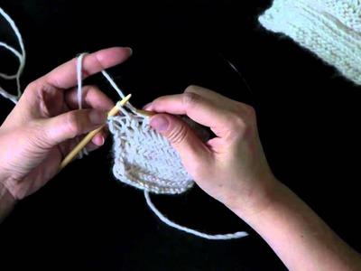 How to Knit Herringbone Scarf