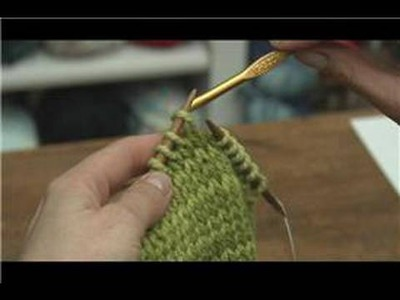 How to Knit : How to Pick Up a Dropped Stitch in Knitting