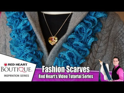 How To Knit Red Heart Sashay Scarves