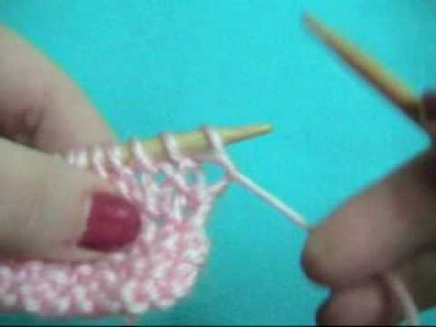 How to: Knit Seed Stitch
