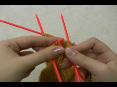 How to Knit Socks: Decreasing for the Toe