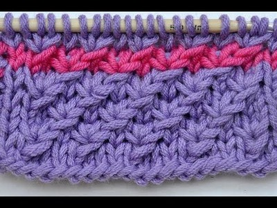 How to Knit * Star stitch * Knitting stitch