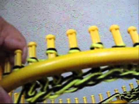 How to Loom Knit a Hat Part 1