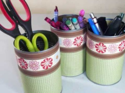 How to make a craft supplies organizer - EP