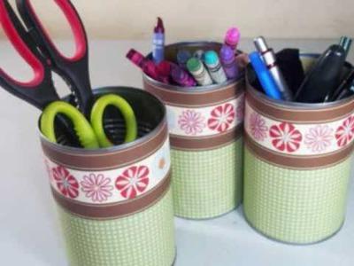 How to make a craft supplies organizer - EP