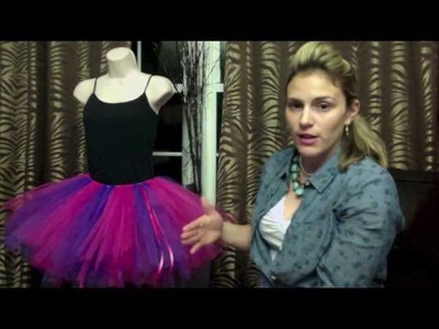 How to Make a DIY Cute Tutu Tutorial!!