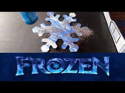 How To Make a Frozen Snowflake Craft