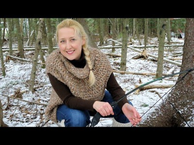 How to make a katniss cowl
