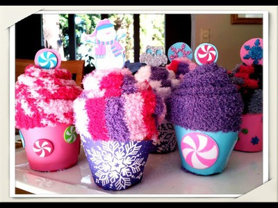 How to make Cute Cupcake Sock Party Favors!  Easy & Quick Tutorial