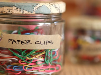 How to Make Decoupaged Storage Jars || KIN DIY