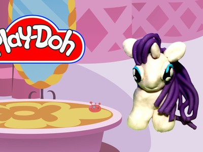 How to make MLP Play Doh Rarity My Little Pony