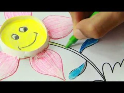How to make paper cup flower - craft