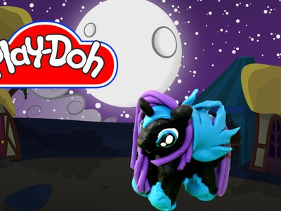 How to make Play Doh Nightmare Moon My Little Pony