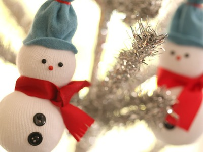 How to Make Snowmen Ornaments (Kid Friendly DIY Craft Idea) || KIN PARENTS
