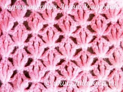 Женский шарф крючком - Crochet Scarf