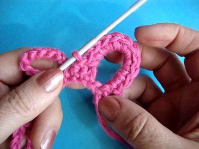 Как вязать листик крючком Урок 303 How to crochet leaf