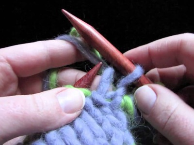 KNITFreedom - Double Knitting - How To Double-Knit Really Fast