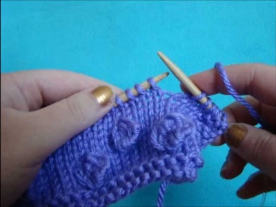 Knitting How To: Making Bobbles