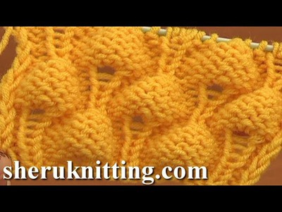 Knitting Strawberry Stitch Pattern Tutorial 13 Knit Stitch Pattern Library