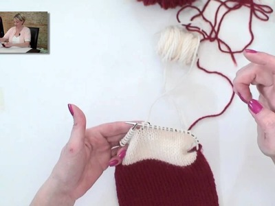 Learn to Knit a Christmas Stocking - Part 3