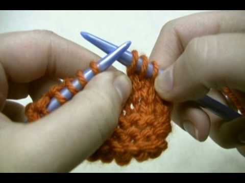 Learn to Knit: Knit Through the Back Loop (ktbl)