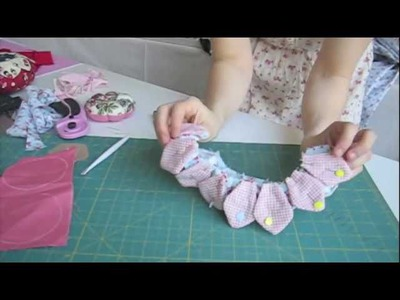 Living the crafts Tutorial de como realizar un Alfiletero flor
