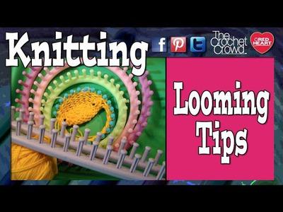 Loom Knit - Cast Off Rectangular Loom - Place Mat