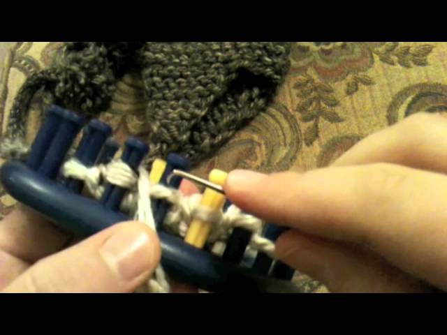 Loom Knit: Earflaps Part 1 Start Earflaps