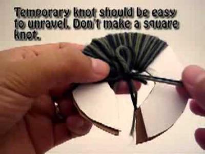 Loom Knitting: Creating a Pom Pom