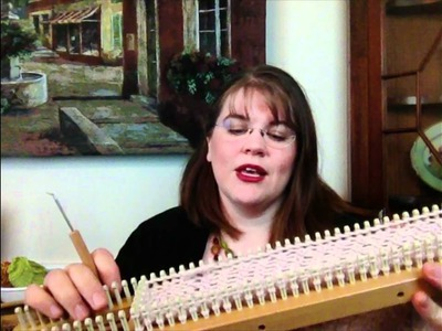 Loom Review: All n One from Authentic Knitting Board or All-n-One, how to,
