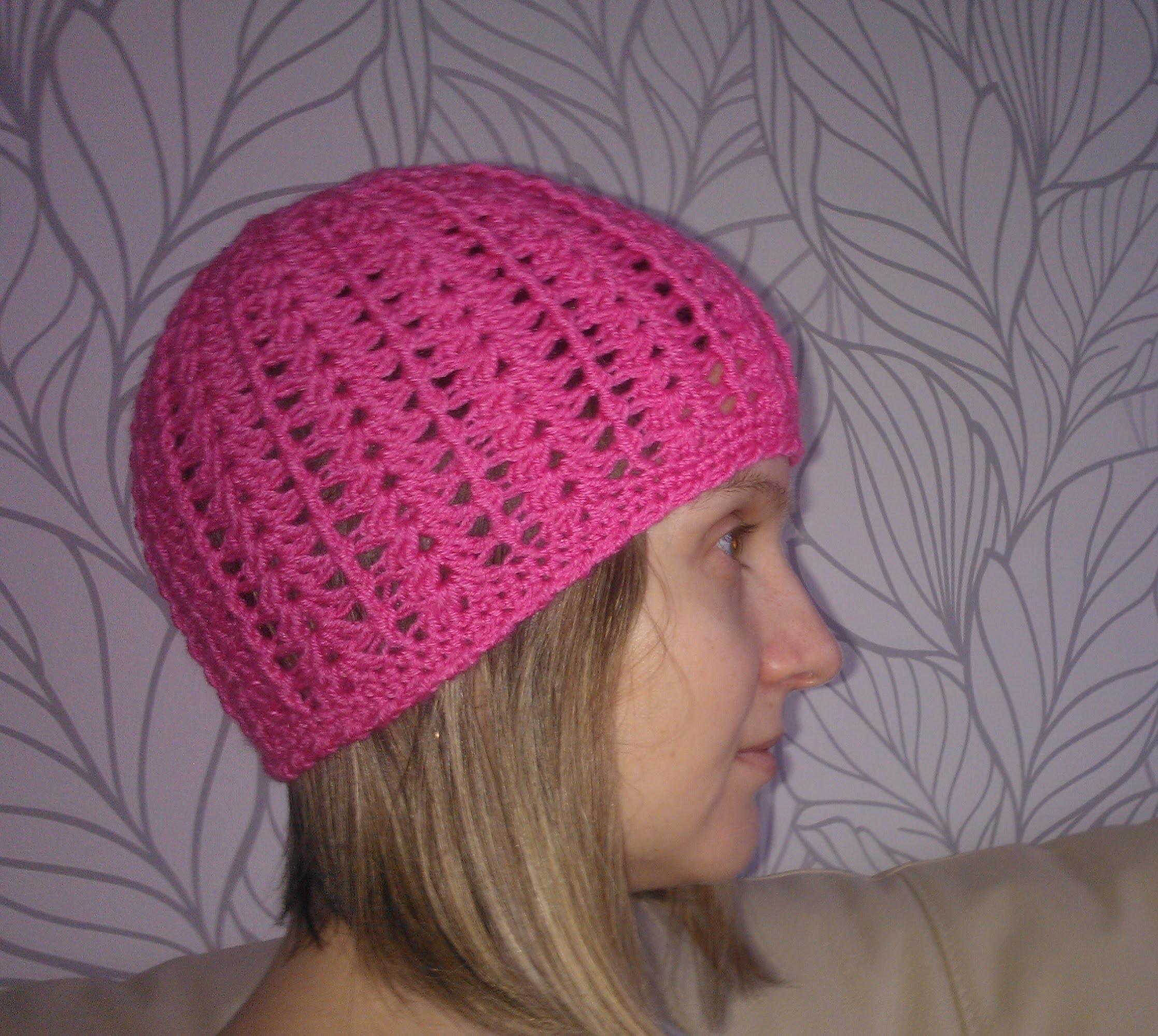 Лучшая женская шапка крючком Best autumn crochet hat