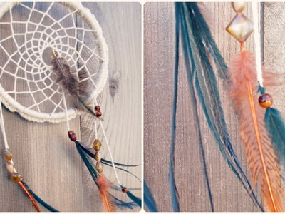 Make a Dreamcatcher: Crochet, Feathers, and Beads