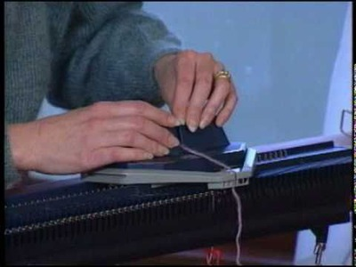 Meet Your BOND Knitting Machine 3: Cast On & Knit