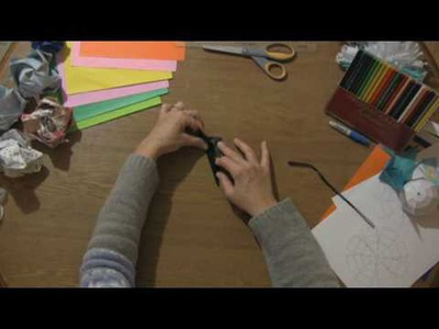 Paper Craft Projects : How to Make a Paper Kunai Knife