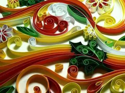 -Quilling- How Difficult Is It To Do This Paper Craft--‏ - YouTube