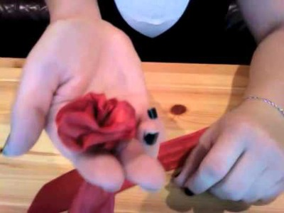 Ribbon Roses - Craft Tutorial