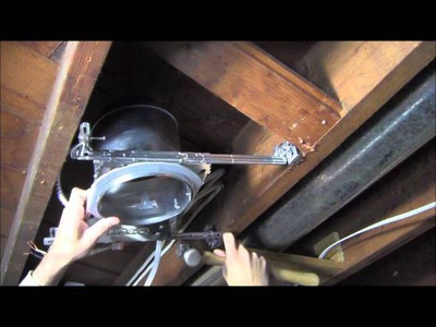 RicksDIY Recessed Lighting DIY Tutorial Wiring.wmv