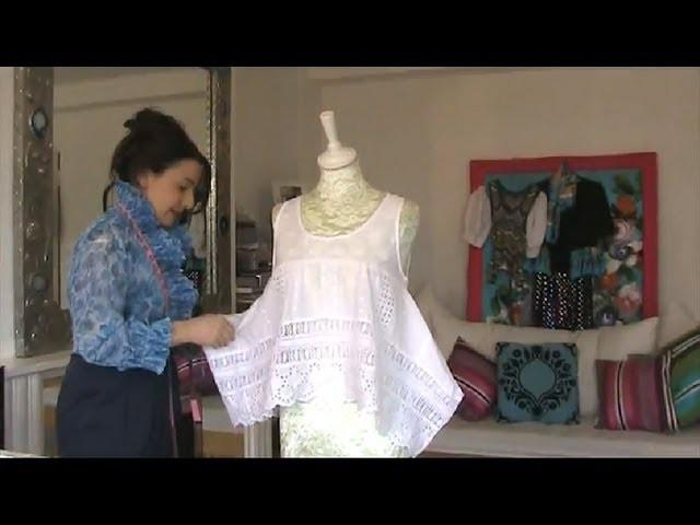 SEW A VINTAGE TOP DIY - SEWING TUTORIAL