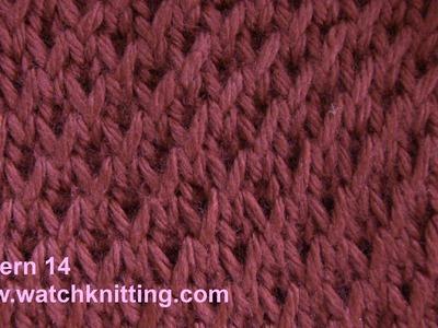 Simple Patterns - Free Knitting Patterns Tutorial - Watch Knitting - pattern 14